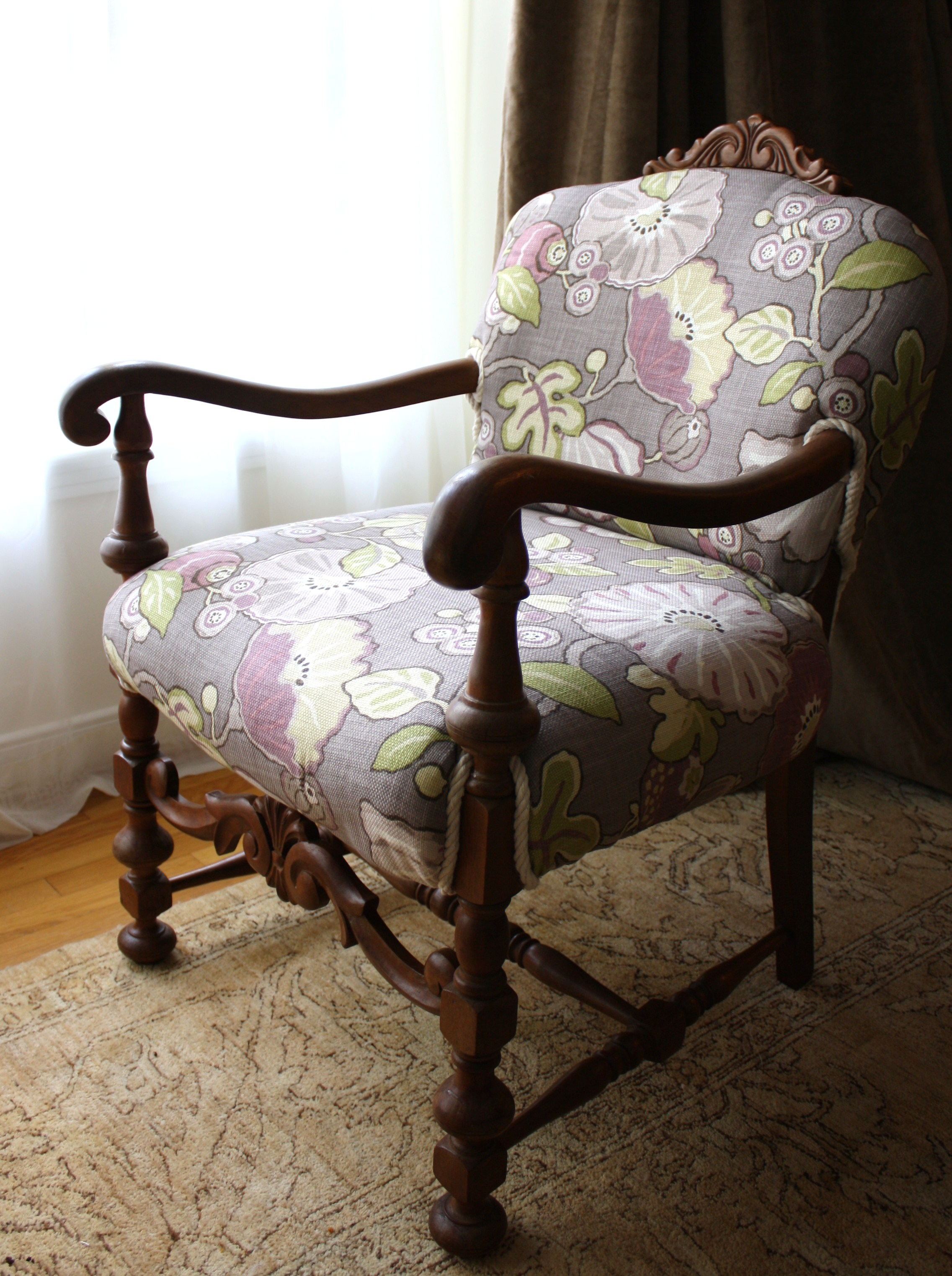 Restored Antique Armchair