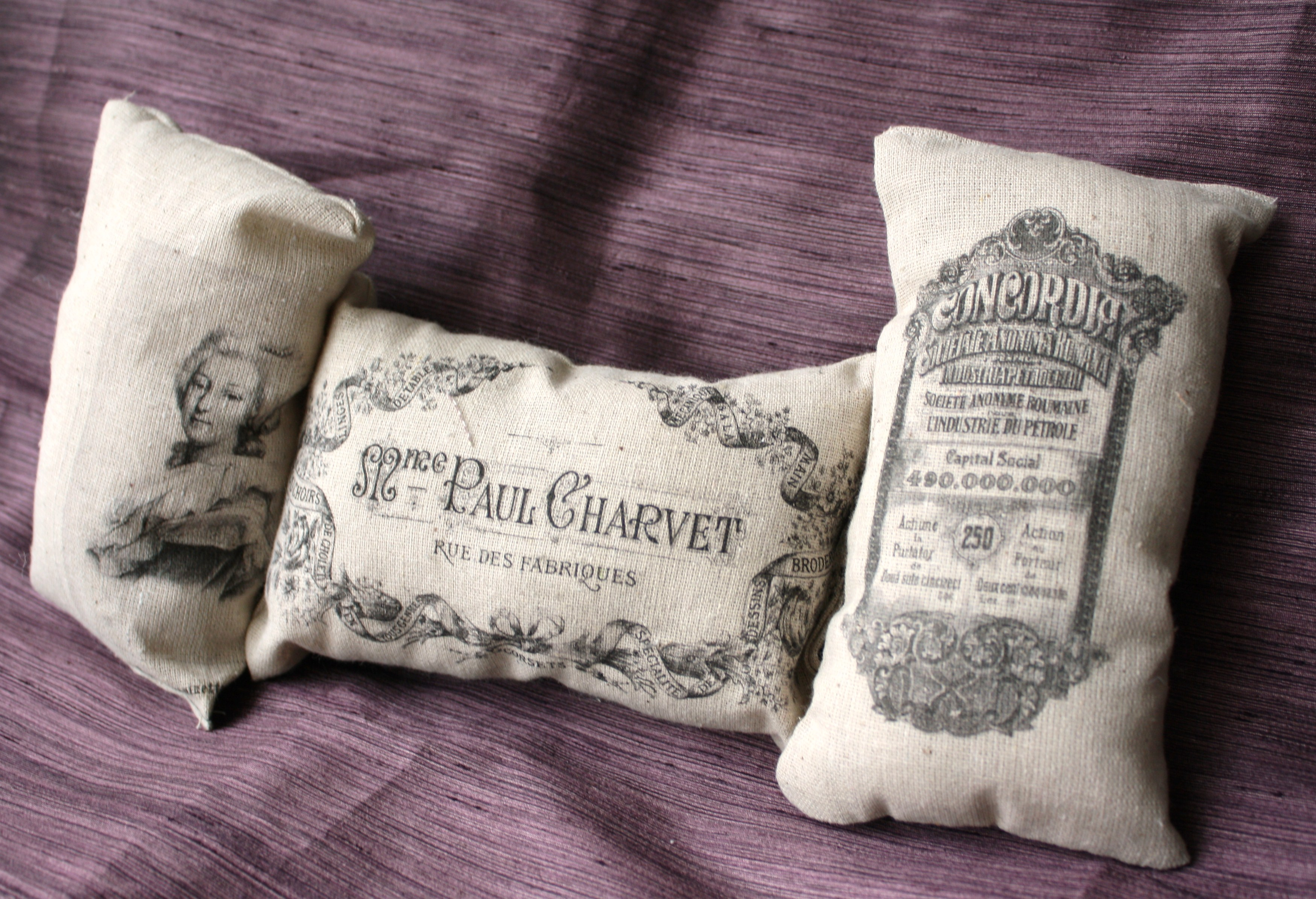 Organic Cotton French Sachets